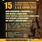 15. ročník pravého country festivalu