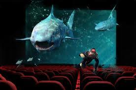 Ponořte se do hlubin oceánu z 5D kinem